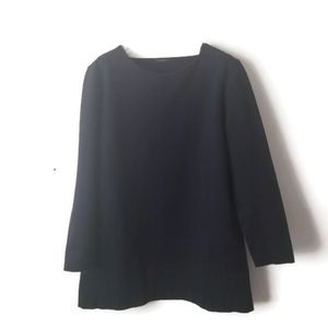 COS tunic jersey knit top sz Large